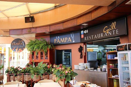 La Pampa Grill Meloneras: Restaurant la pampa