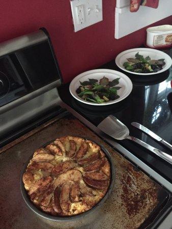 Jesse Harlow House: Das Frühstück