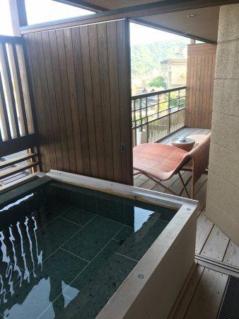 Sumoto, Japan: 部屋の露天風呂