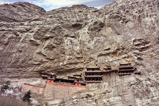 Hengshan Hanging Temple (Xuankong si): The Hanging Temple