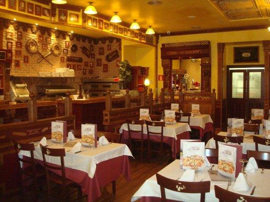 Viladecans, Ισπανία: Detalle zona pizza