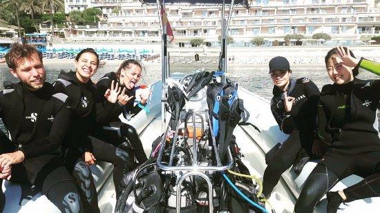 Mazzaro, อิตาลี: Open Water course