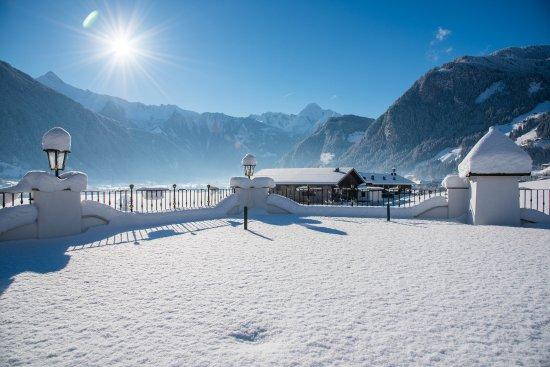 Hippach, Østerrike: Toskanagarten mit Federbett