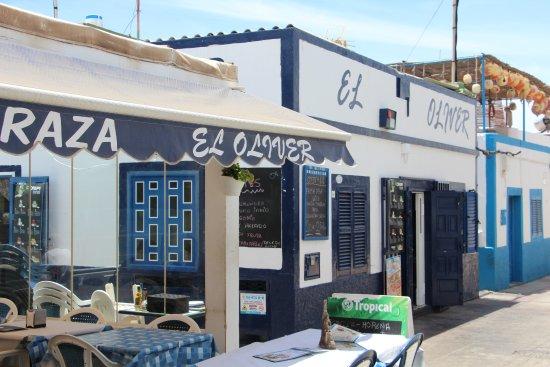 Las Nieves, Spanien: Resto El Oliver ( A eviter )