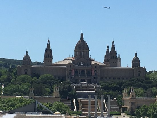Province of Barcelona, Spain: View from the roof of Las Arenas Shopping Mall