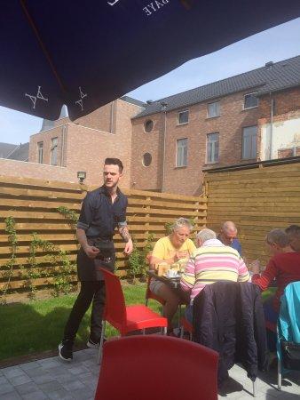 Eindhout, Belgium: Super bediening