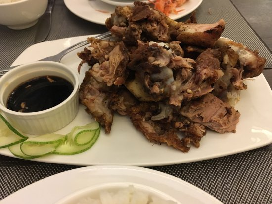 The Prawn Farm: Fresh crabs available. You can choose which one you want :) Their Crispy pata is the best! goes
