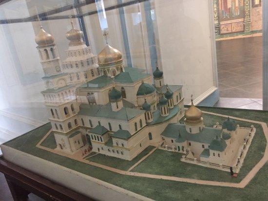 New Jerusalem Monastery of Resurrection : Макет монастыря