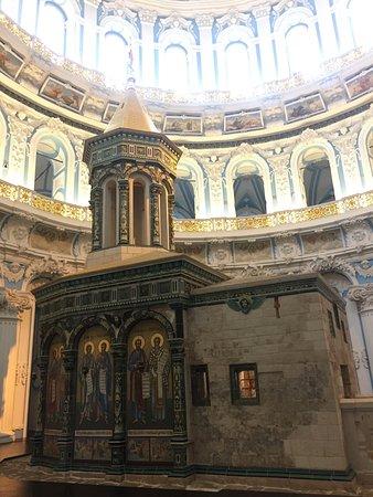 New Jerusalem Monastery of Resurrection : Гроб Господень (Кувуклия)