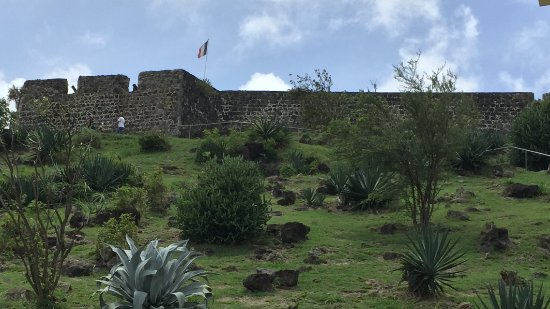 Marigot, Saint-Martin / Sint Maarten: Steep