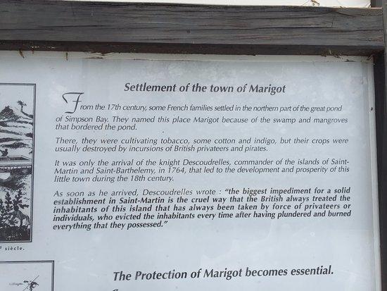 Marigot, Άγιος Μαρτίνος: History