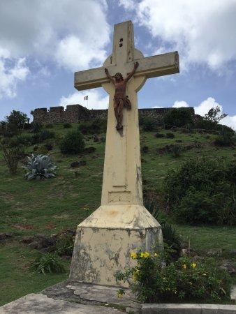 Marigot, Saint-Martin / Sint Maarten: First vier from parking lot
