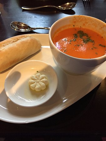 Dungannon, UK: Red Pepper Soup