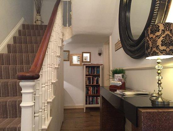 Headland View: Downstair hallway