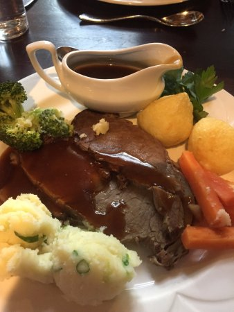 Dungannon, UK: Roast Beef