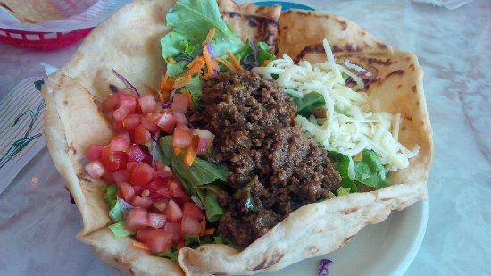 Фэрфакс, Вирджиния: Ground steak taco salad
