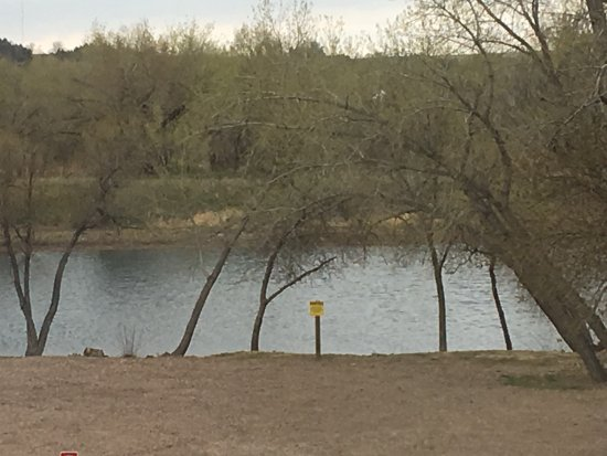 Ogallala, Небраска: Lake out back