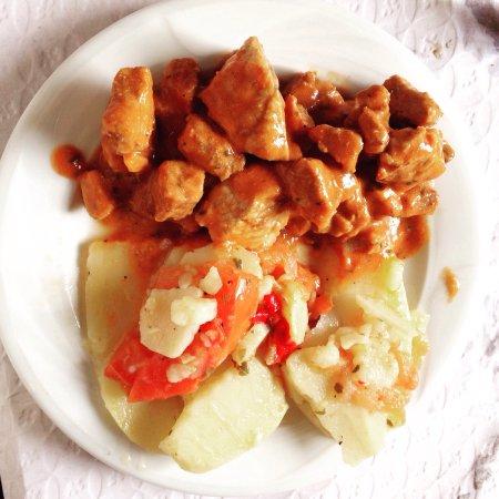 San Roque, Spanien: Comida excelente