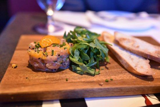 Restaurant Opia : Salmon Tartare