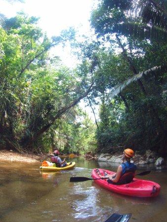 เบลโมแพน, เบลีซ: On the way to the second cave