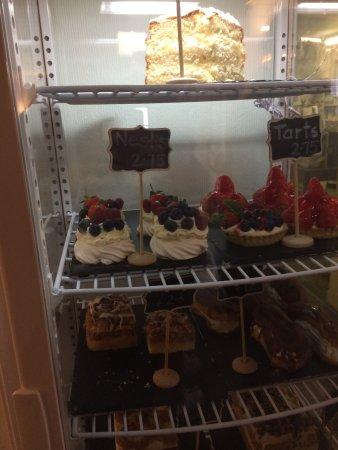 St Cyrus, UK: Cake cabinet