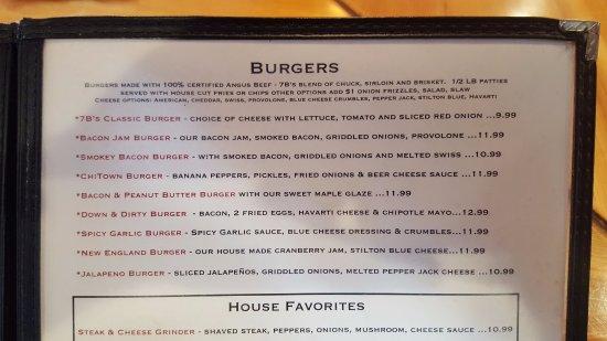 Westfield, MA: Burgers