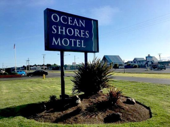 Ocean Shores, WA: OSM: Street Sign & Landscaping