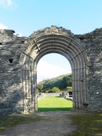 Tregaron, UK: The arch