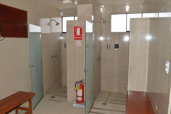 Royal Inca Hotel: Sauna Shower Area