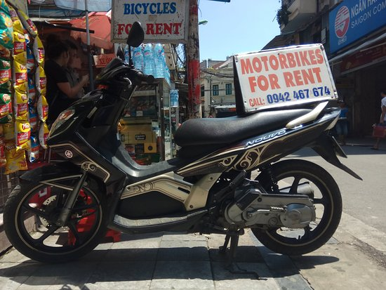 Motorbike For Rent In Hanoi