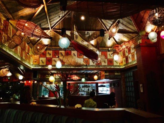 Bel Ombre, Seychelles: Inside the bar