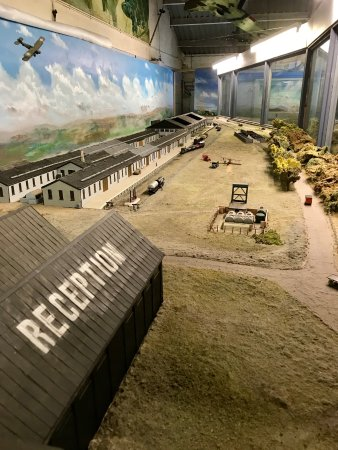 RAF Manston diorama.