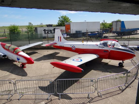 Manston, UK: BAC Jet Provost T.4 XR658.