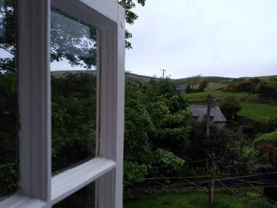 Countisbury, UK: The other aspect window view