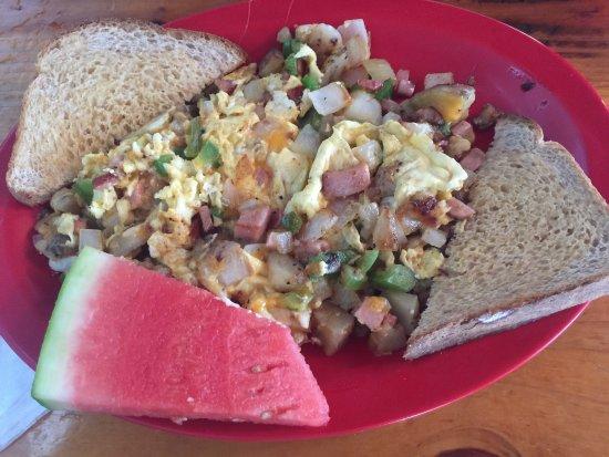 Planet Follywood: It's all good...best breakfast on Folly Beach!!!