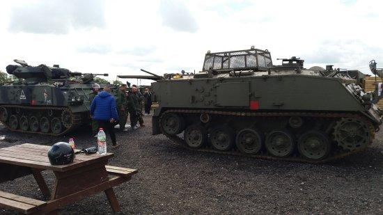 Lutterworth, UK: War machines