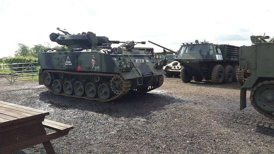 Lutterworth, UK: More War machines