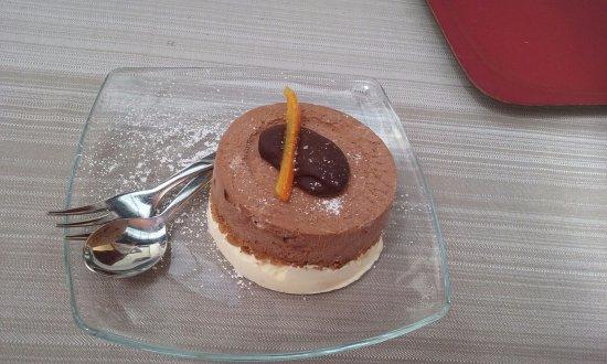 Sala Comacina, Italien: Semifreddo arance e cioccolato