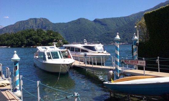 Sala Comacina, Italien: Imbarcadero