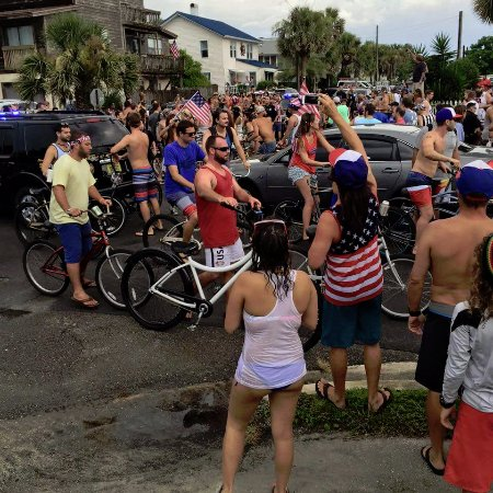4th of July in Neptune Beach is such a party!