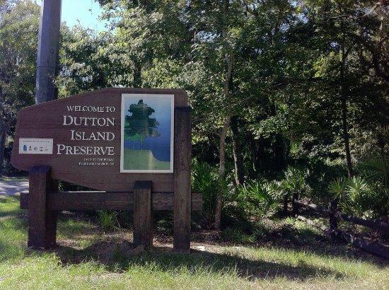 Atlantic Beach, FL: Dutton Island Entrance