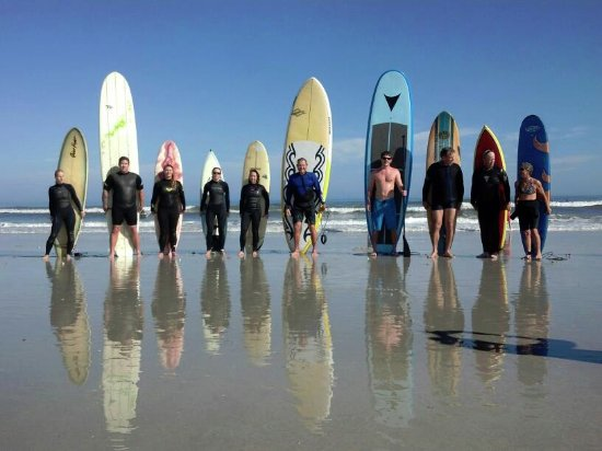 Surfing is a popular pastime in Atlantic Beach.