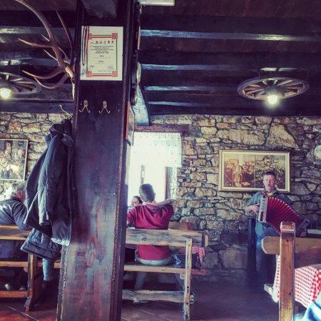 Oprtalj, Croatia: Paolo & his accordian