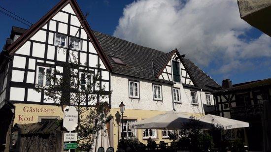 Unkel, ألمانيا: Het hotel en restaurant