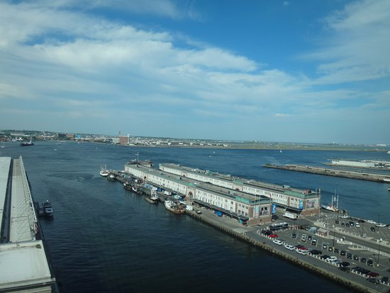 Seaport Boston Hotel: view from the room