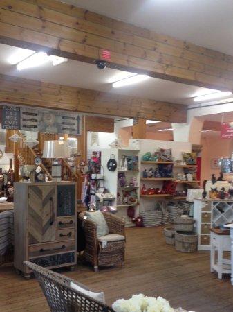 Inside the craft centre, Dedham