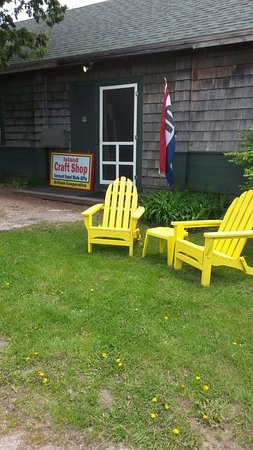 South Hero, VT: A spot for our visitor sit and enjoy the Vernont outdoors!