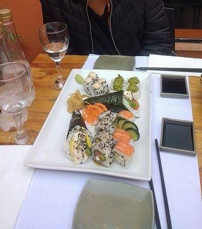 Itamae Sushi: Sushi y temaki riquisimo!!
