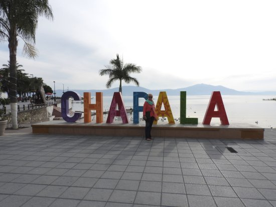 Lakeside by the Chapala sign on the Malecon Picture of Ajijic