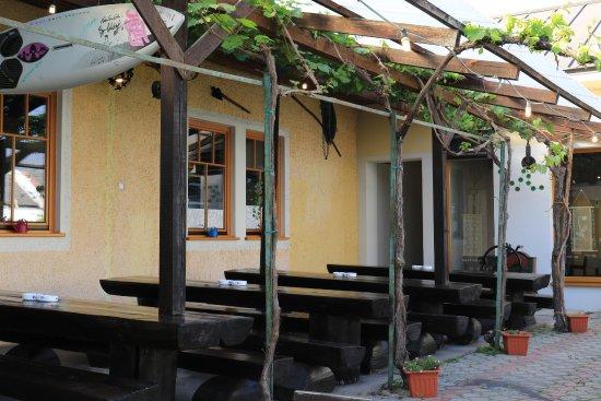 Podersdorf am See, Austria: Innen Hof